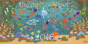 Kelp Forest Frolic 2 New Year 2016